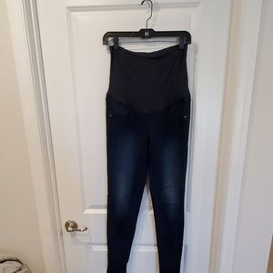 A: glow maternity jeggings